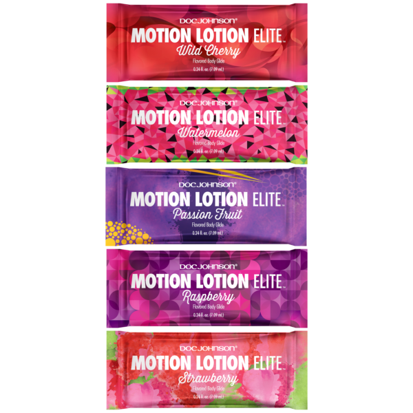 Motion Lotion Elite - Flavored Body Glide - Bulk Refill - 120 Assorted Pieces