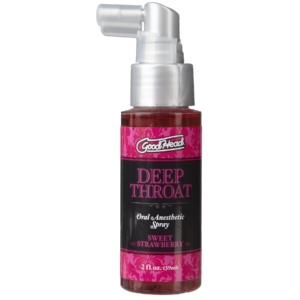 GoodHead - Deep Throat Spray - Sweet Strawberry