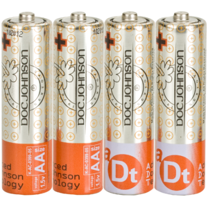 Doc Johnson Batteries - 4 AA