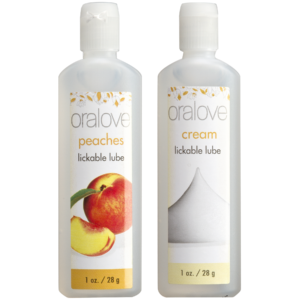 Oralove - Delicious Duo - Peaches & Cream - 2 Pack