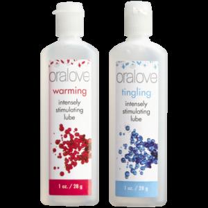 Oralove - Dynamic Duo - Warming & Tingling - 2 Pack
