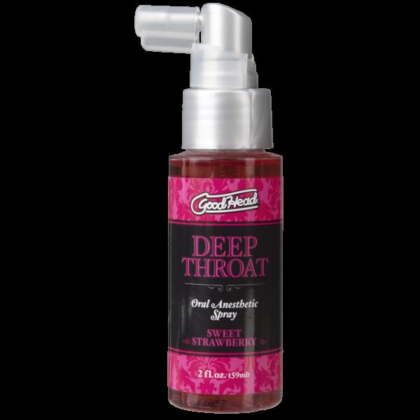 GoodHead - Deep Throat Spray - Sweet Strawberry