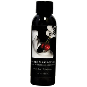 Earthly Body Edible Massage Oil - Cherry 2oz