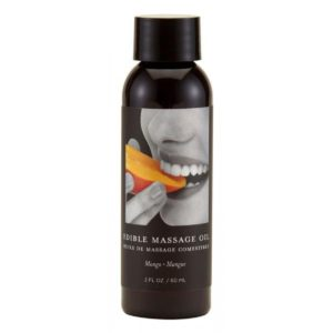 Earthly Body Edible Massage Oil - Mango 2oz